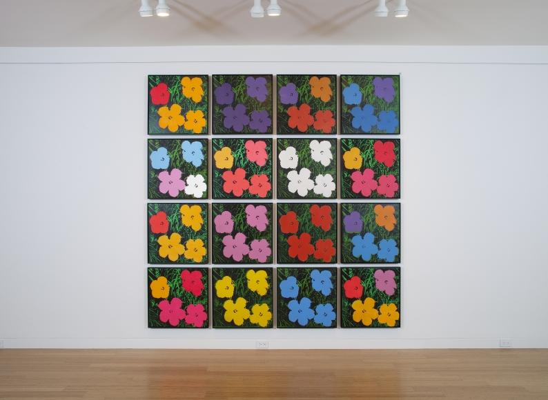 Andy Warhol Flowers Exhibitions Eykyn Maclean