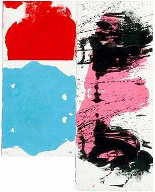 """George Negroponte. Two. 2005. Gouache on paper. 18"""" x 14.5"""""""