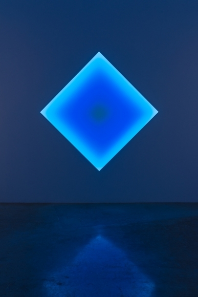 Kane Griffin Corcoran Represented Artist James Turrell Sunda Strait Diamonds (Squares on point) Glass