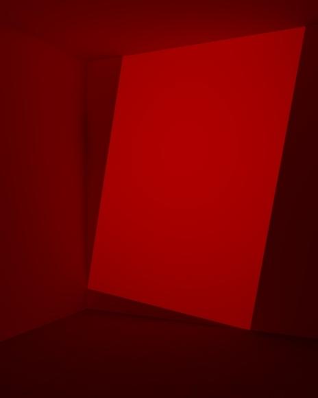 Kane Griffin Corcoran Represented Artist James Turrell Art Work Decker, Red