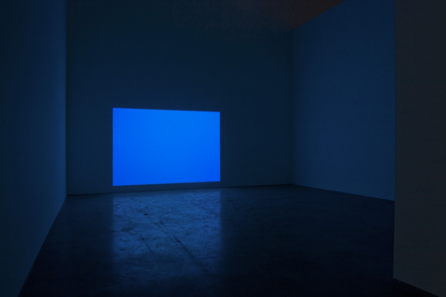 James Turrell, Phantom Blue, Carter Minor