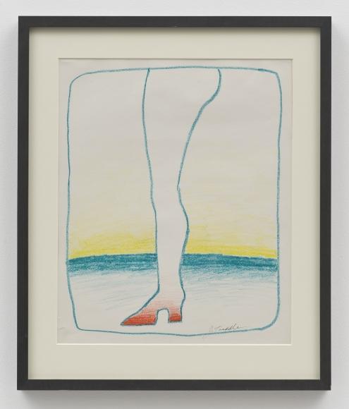 John Tweddle, Blue Leg
