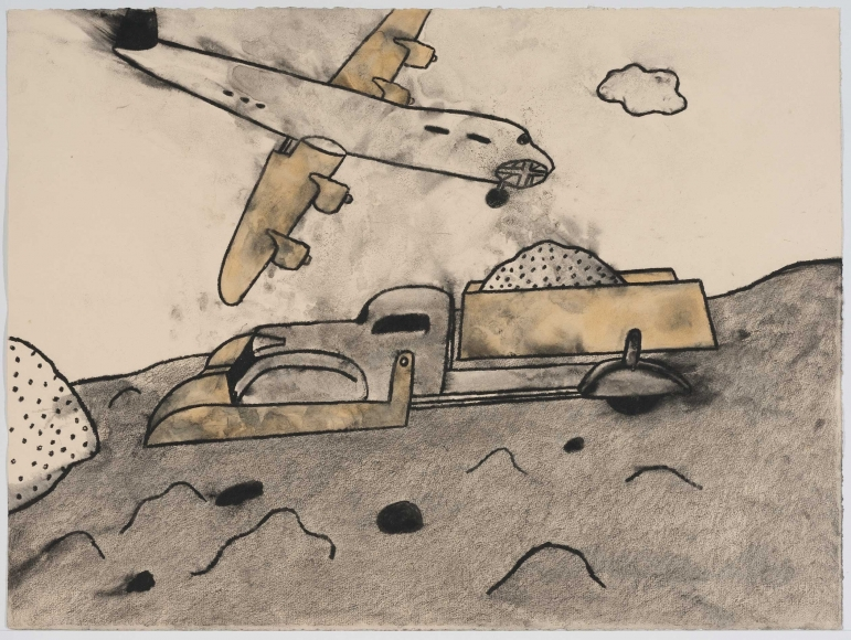 David Lynch, Airplane and Dumptruck