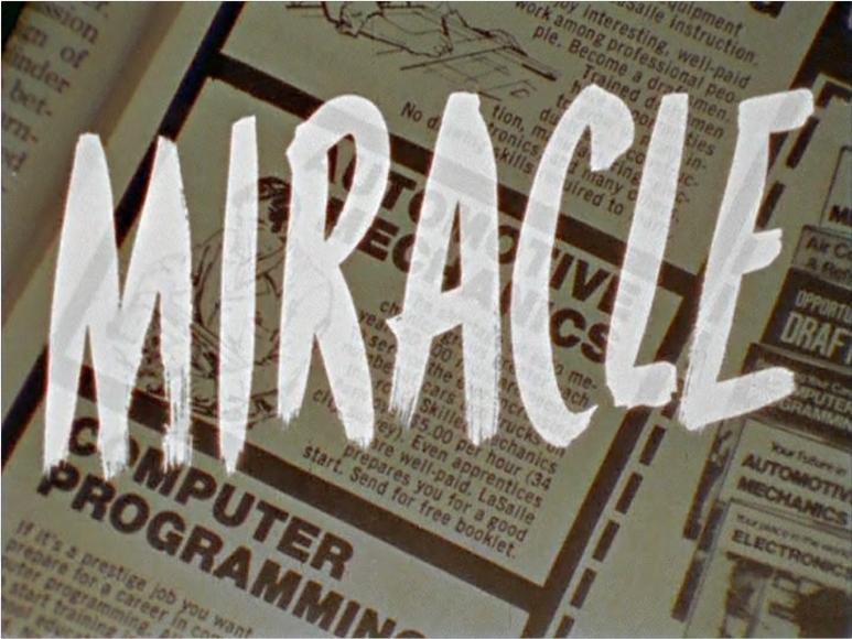 Ed Ruscha, MIRACLE