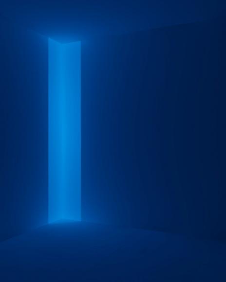 Kane Griffin Corcoran Represented Artist James Turrell Art Work Notam, Blue