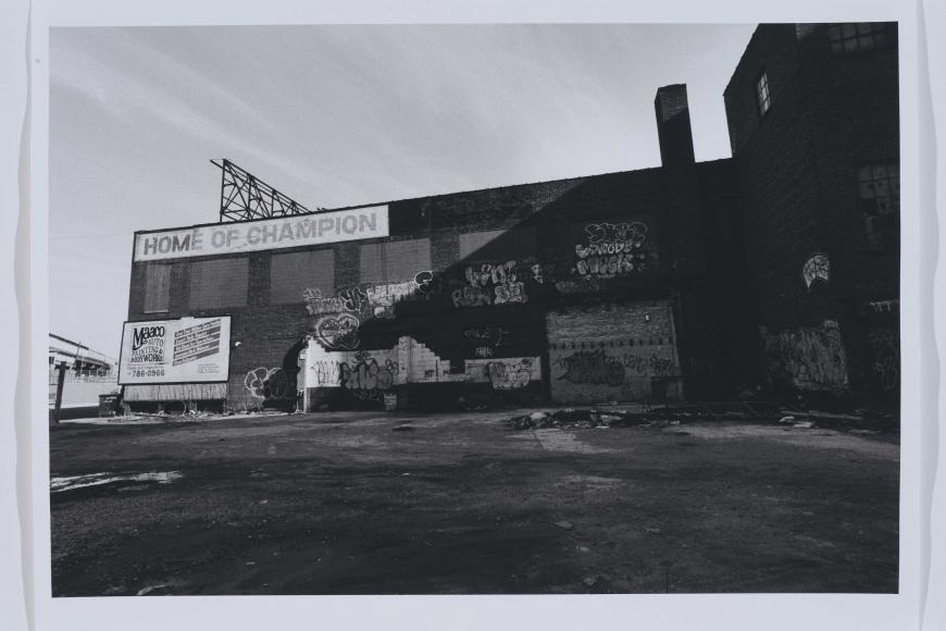 David Lynch, Untitled (Industrial, New York 0186:33)