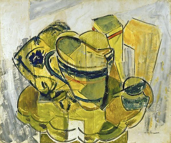 Alfred H. Maurer - Still Life No. 7, circa 1930