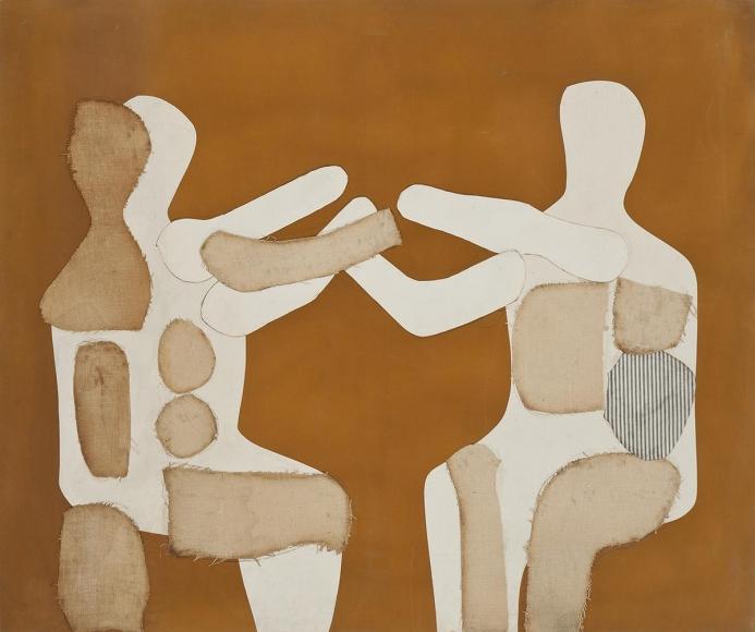 Conrad Marca-Relli - Untitled #4, circa mid-1970's - Hollis Taggart