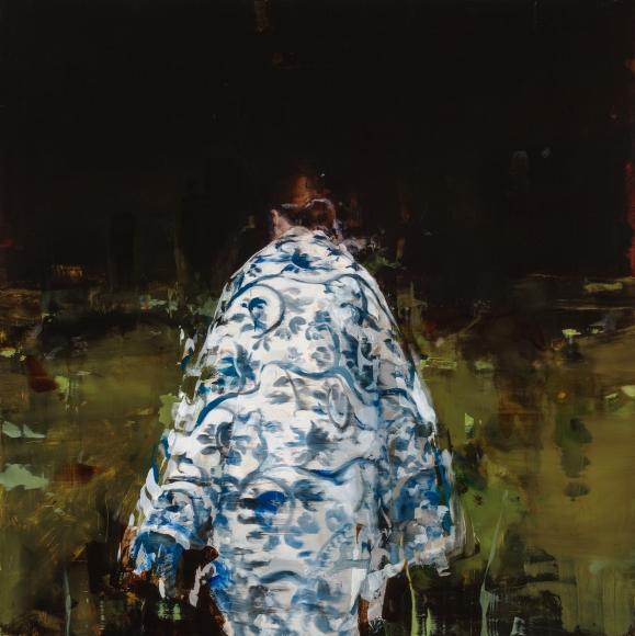 Alex Kanevsky (b. 1963) J.F.H. with Nature Blanket, 2016