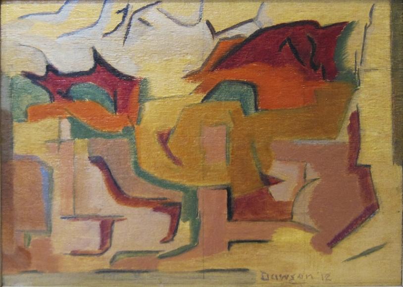 Manierre Dawson (1887-1969) Dependent Impression, 1912