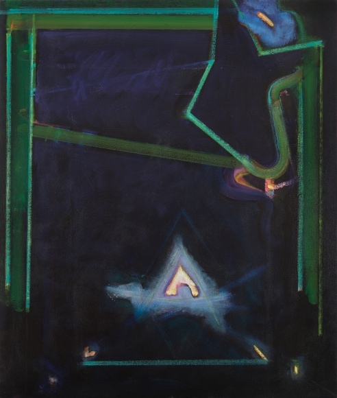 William Scharf, Green Bridge, 1986