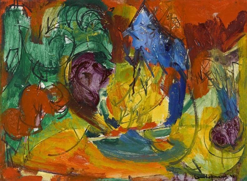 Hans Hofmann - Miller Hill, 1941