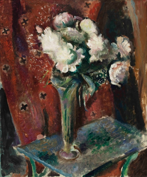 Arthur B. Carles, Jr. - Peonies in a Glass Vase, circa 1930