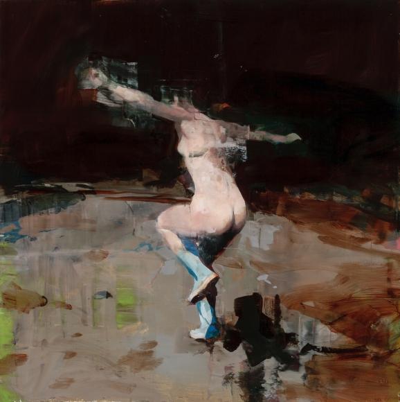Alex Kanevsky (b. 1963) Night Dancing in Lambertville, 2016
