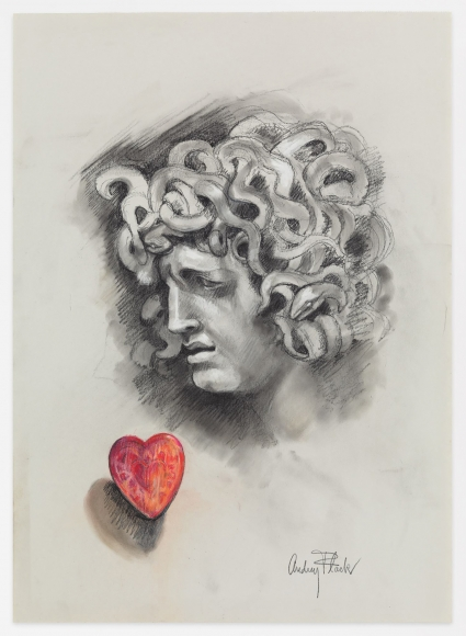 Audrey Flack (b. 1931) Medusa's Heart, 2011