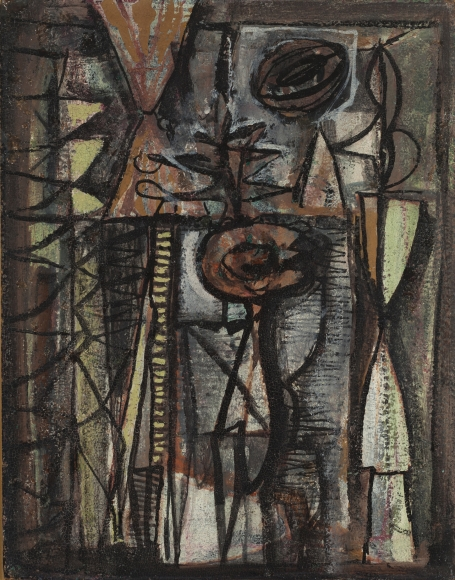 William Baziotes - Fleur du Mal, 1944