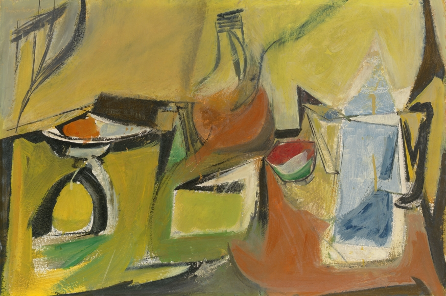 "Jack Tworkov - Study for ""Still Life with Yellow and Blue Pitcher"", 1945-46"
