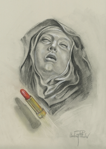 Audrey Flack (b. 1931) St. Teresa, 2011