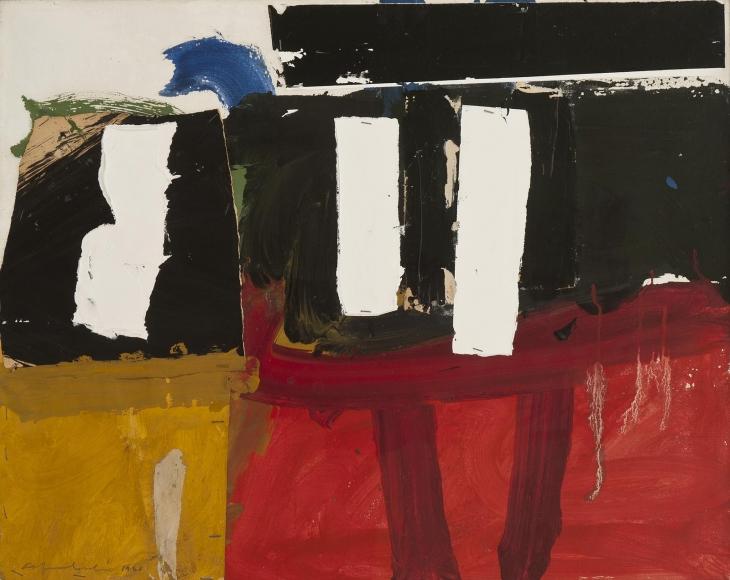 Alfred Leslie - Noah's Collage, 1960