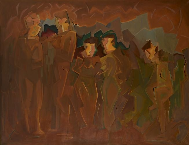 Manierre Dawson (1887-1969) Configuration, 1914