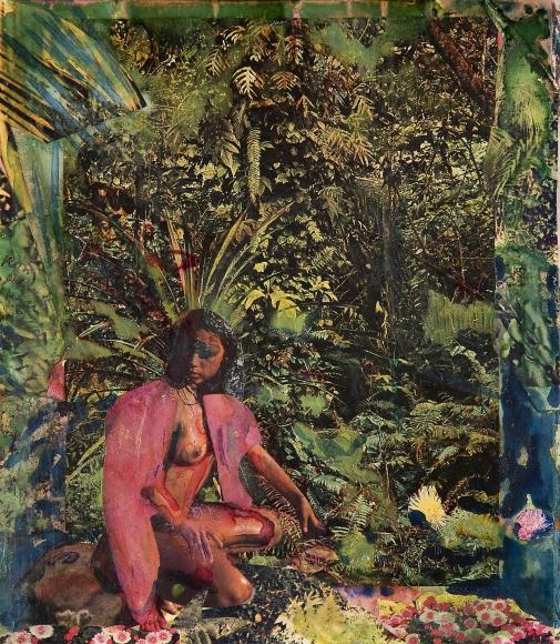 Romare Bearden - Martinique, 1984