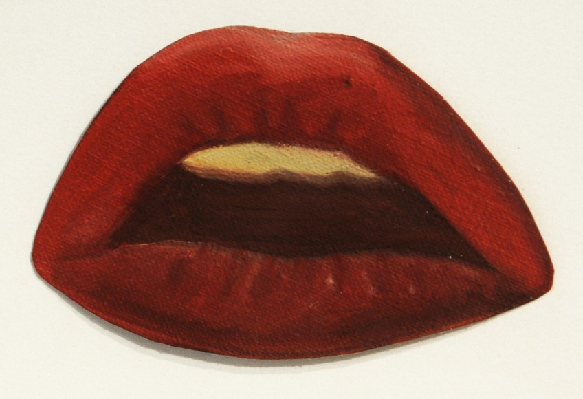 Tom Wesselmann - Study for Smoker #8, 1972