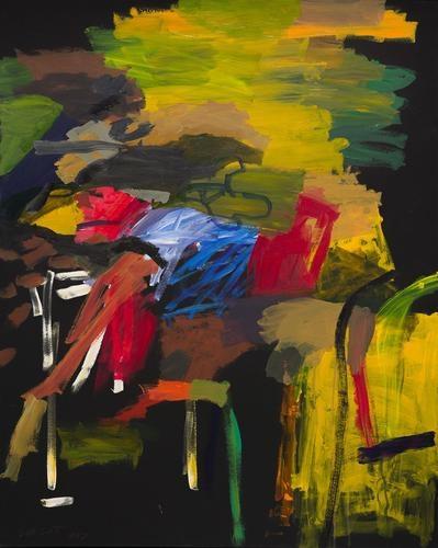 Bill Scott - Backyard Nocture, 1997