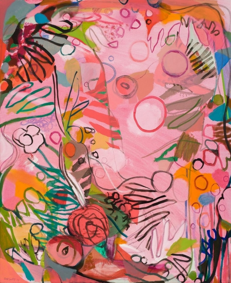 Bill Scott - An Aquarium of Flowers, 2015 - Hollis Taggart