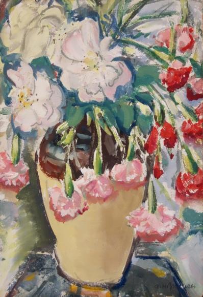 Alfred H. Maurer - Untitled (Floral Still Life), circa 1920s