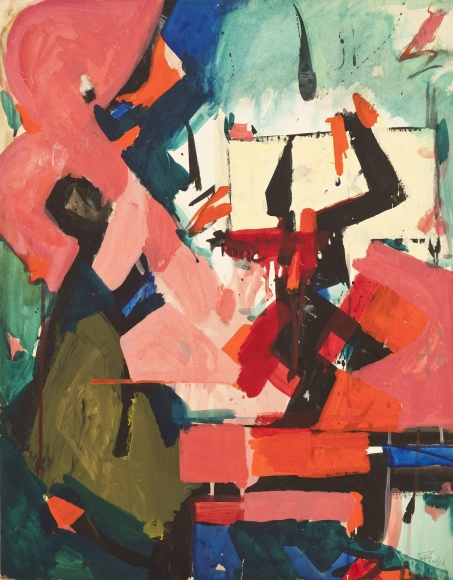 Audrey Flack - Abstract Force II, 1951-52