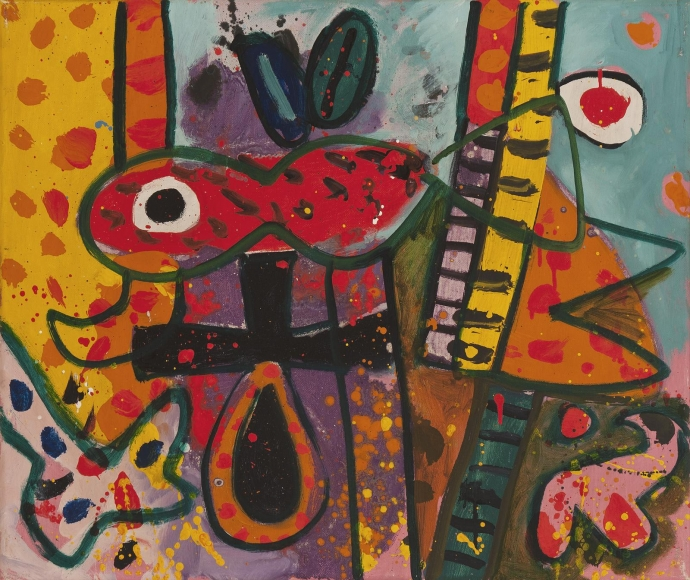 Alan Davie - The All-Seeing Fish No. 2, July 1967