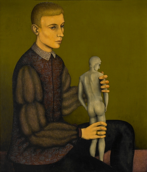 Charles Rain (1911-1985) Portrait of a Young Man, New York City, 1934–35