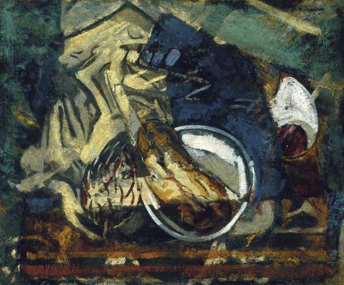 Alfred H. Maurer - Abstract Still Life with Artichoke, circa 1929-30