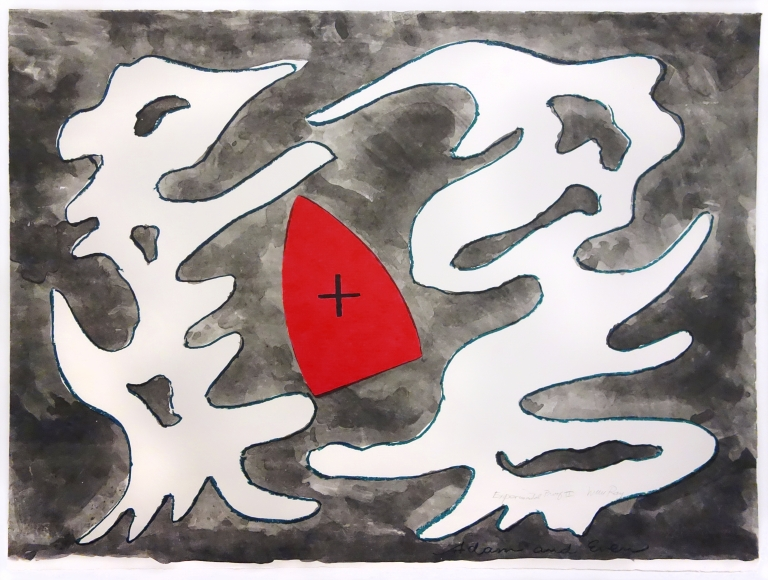Man Ray - Adam and Even (Mythology with Red Iron), 1966