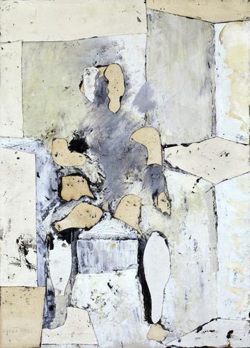 Conrad Marca-Relli - Seated Figure Outdoors, 1953 - Hollis Taggart