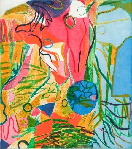 Bill Scott - Hydrangea I, 2013, print