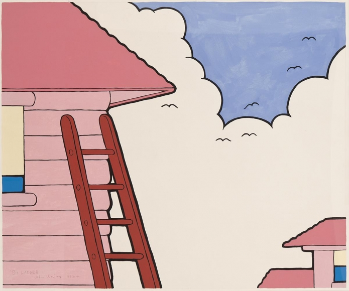 John Wesley - B's Ladder, 1973-74