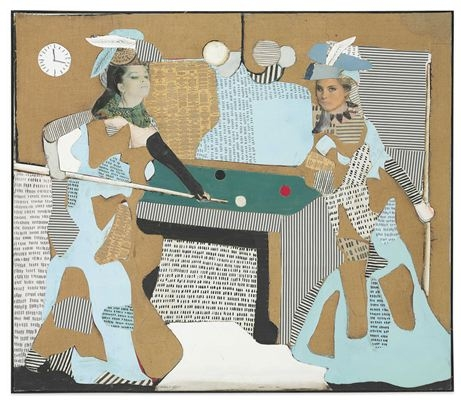 Conrad Marca-Relli - The Pool Game L-I-81, 1981