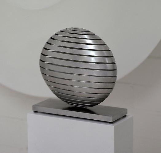 Martin Willing - Ellipsoid, one axis reduced by two thirds, 2002