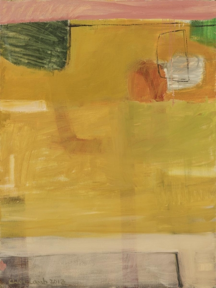 Chloe Lamb - Yellow and Pink, 2014 - Hollis Taggart
