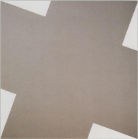 Leon Polk Smith - Cross Roads Gray, 1978