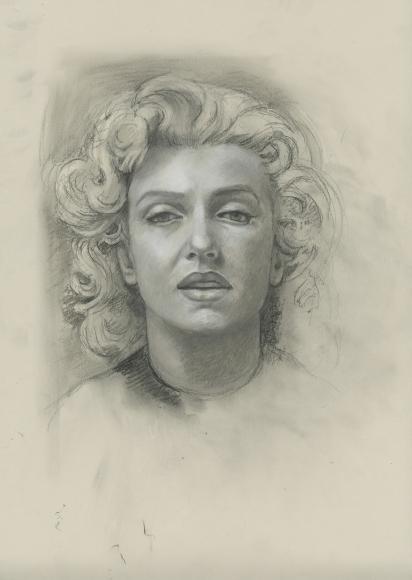 Audrey Flack (b. 1931) Marilyn, 2011