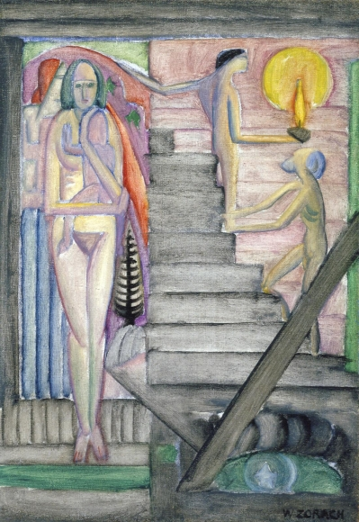 William Zorach (1887-1966) Birth, 1915