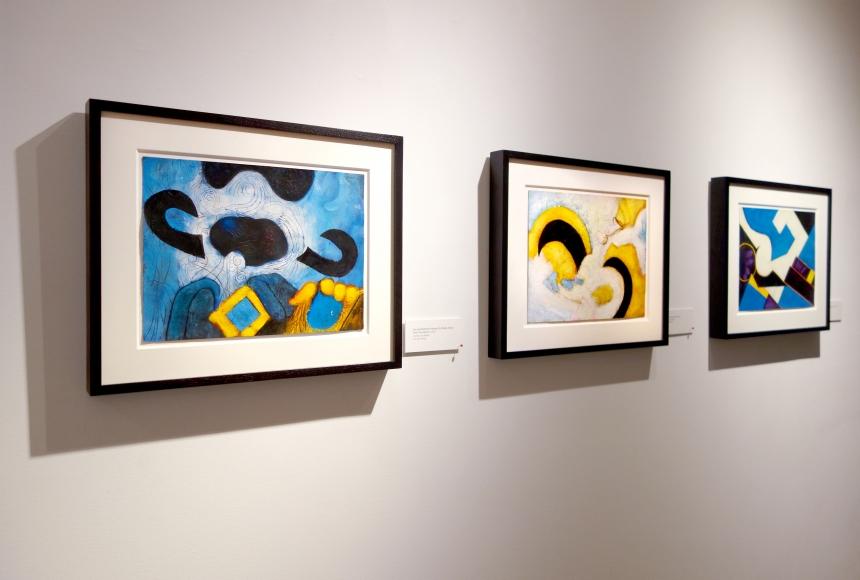 William Scharf: Imagining the Actual - Installation view