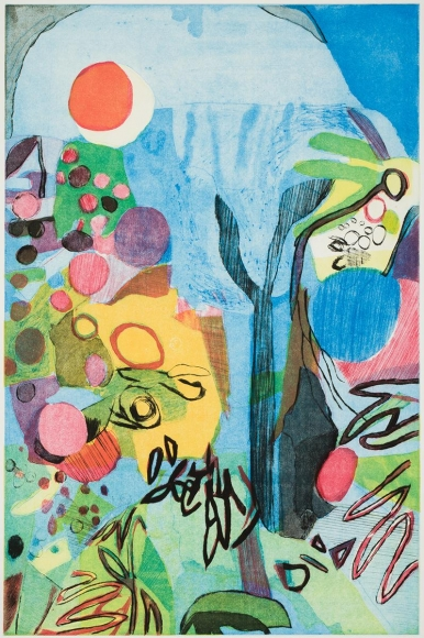 Bill Scott - Imagining Spring, 2015, print
