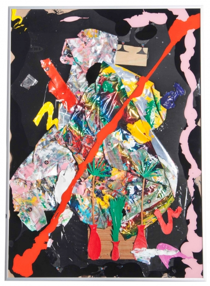 Devin Troy Strother - an abstraction for david hammons and matthew ritchie, 2016