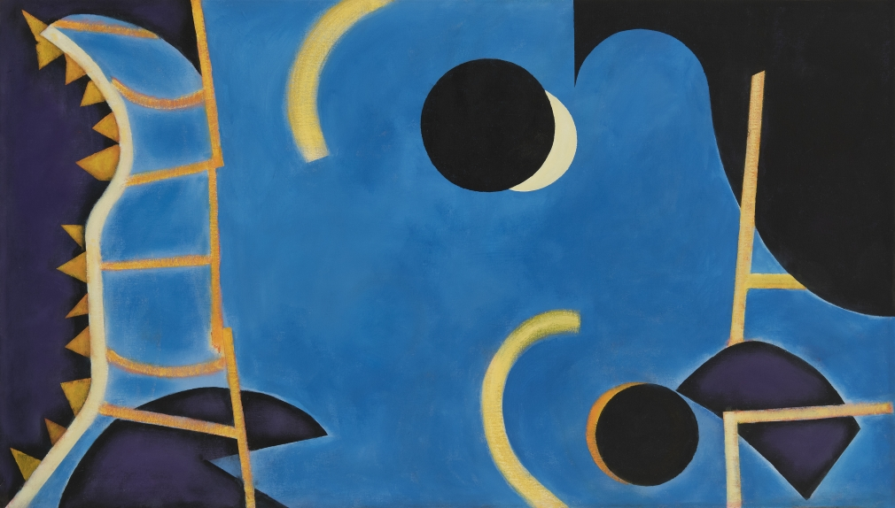 William Scharf, Eclipse Finds the Golden Ladder, 2008