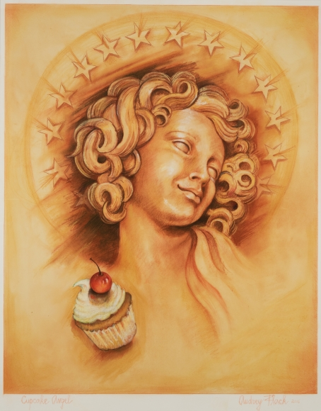 Audrey Flack (b. 1931) Cupcake Angel, 2016