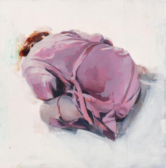 Alex Kanevsky (b. 1963) L.D.V. with Her Pink Robe, 2016