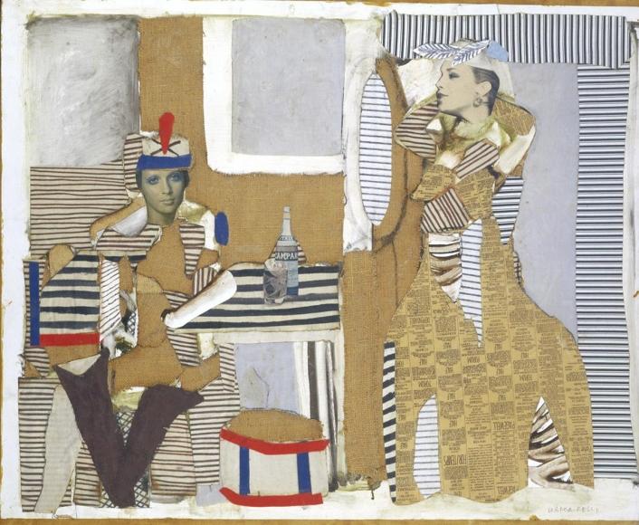 Conrad Marca-Relli - The Sunday Caller, 1982 - Hollis Taggart